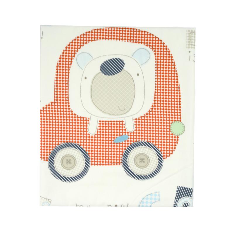 бебешка пелена с кола и животинче