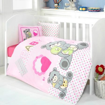 комплект детско спално бельо 4 части