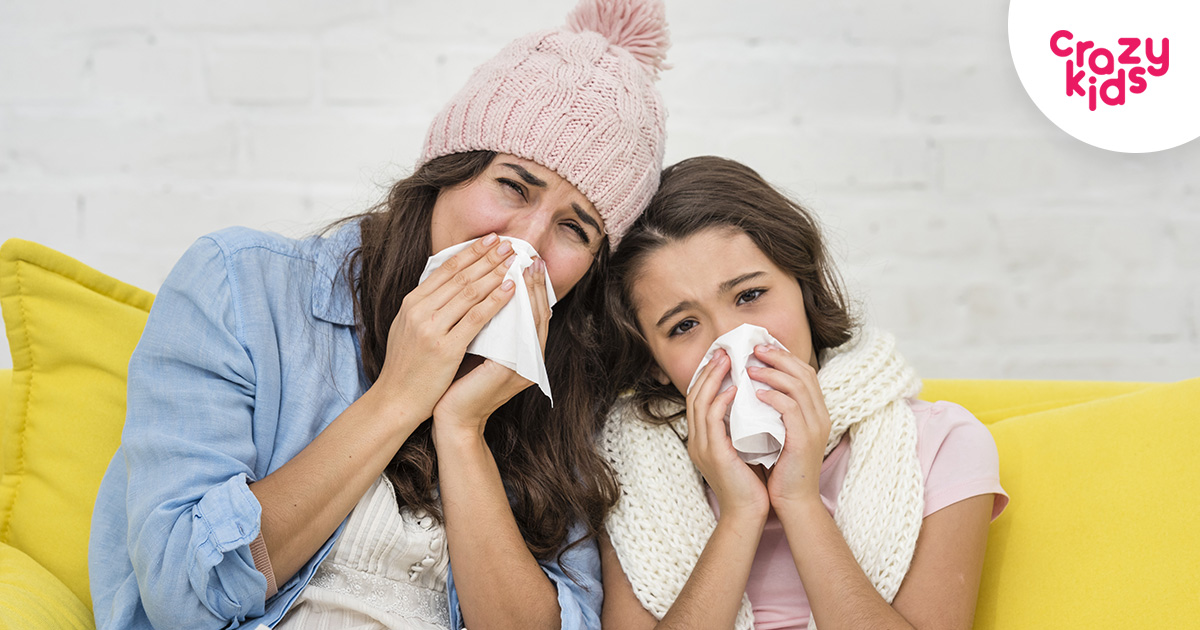 Как да предпазим детето от вируси и настинки