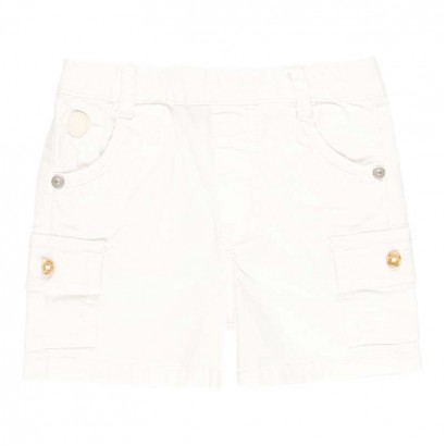 Къси бебешки панталони Boboli с джобове отстрани за момче