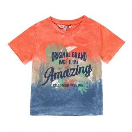 Детска тениска Boboli с преливащ цвят