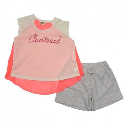 Детски комплект Contrast за момиче