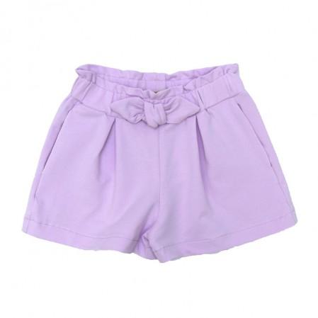 Детски къси панталони Contrast за момиче с панделка