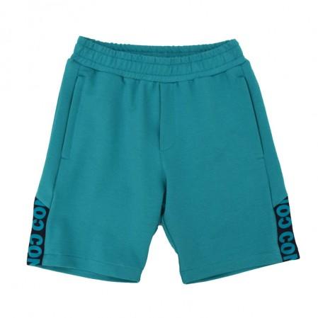 Детски бермуди Contrast за момче с джобове и цип