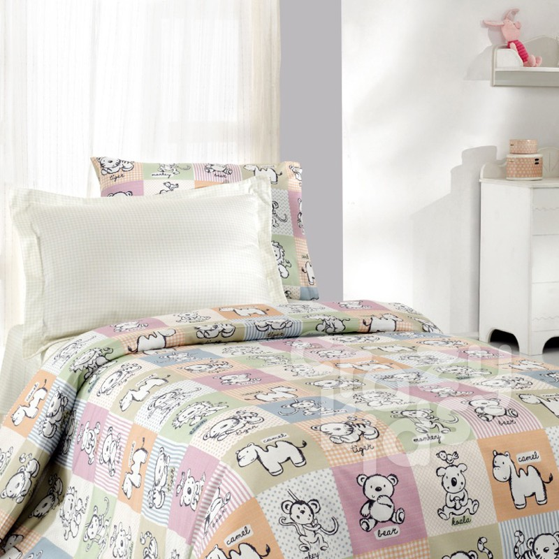 детски спален комплект 4 части