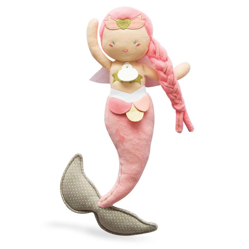 Бебешка плюшена играчка Русалка Taissa от Doudou et Compagnie