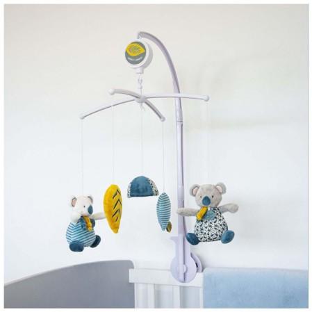 Детска музикална играчка за легло Doudou Коала