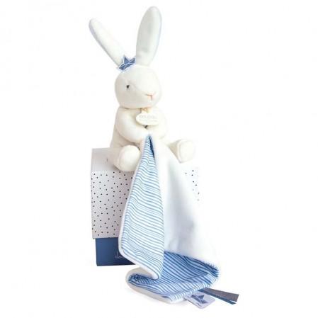 Бебешка играчка Doudou Заек Моряк с одеяло