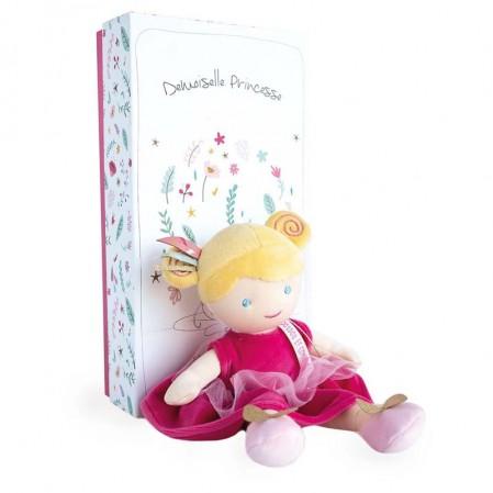Мека детска кукла Doudou Принцеса Constance с руса коса