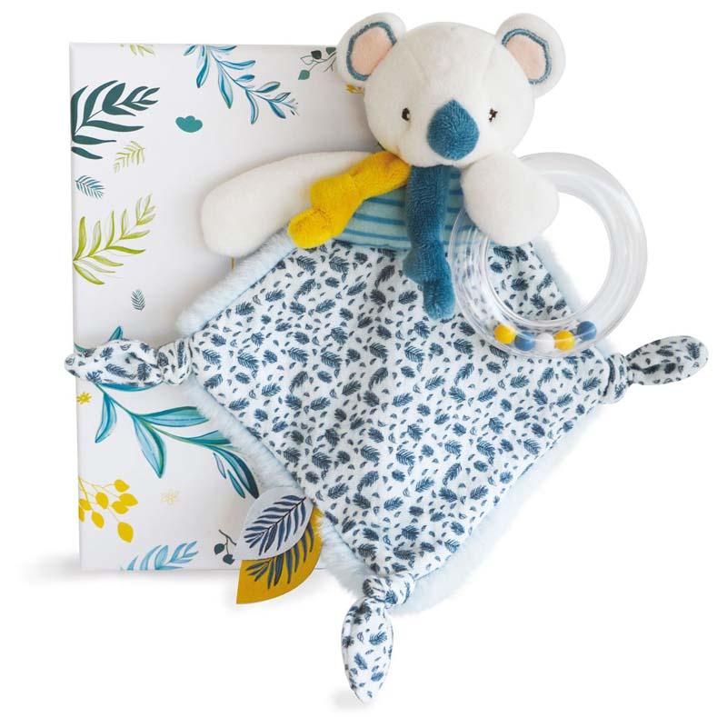 Бебешка играчка Doudou Коала с дрънкалка