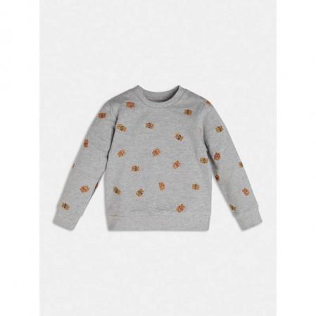 Бебешка блуза Guess за момче с животни