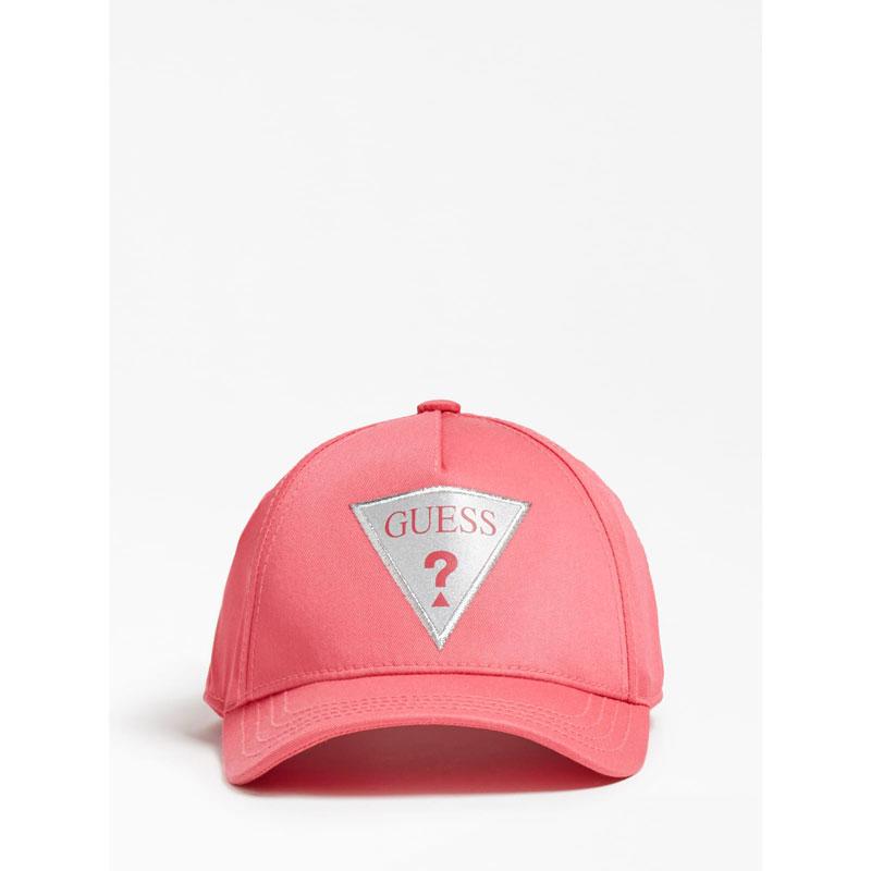 Детска шапка Guess с козирка и лого за момиче