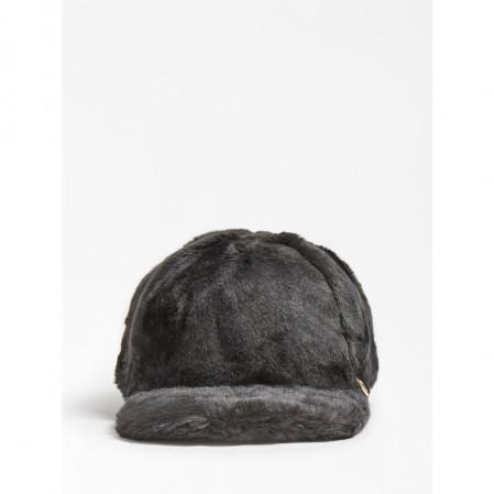 Детска пухкава шапка с козирка Guess за момиче