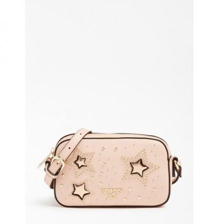 Детска малка чанта Guess за момиче със звезди