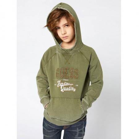 Детска блуза с качулка Guess за момче