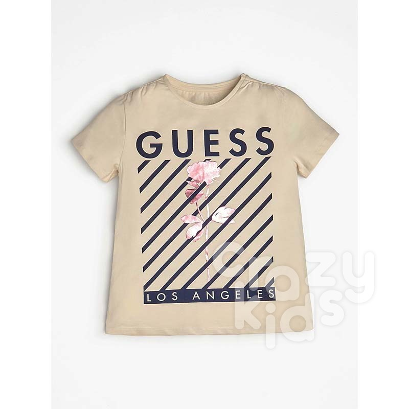Детска тениска Guess Los Angeles за момиче