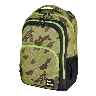 Herlitz Ученическа раница be-bag be-ready Abstract camouflage
