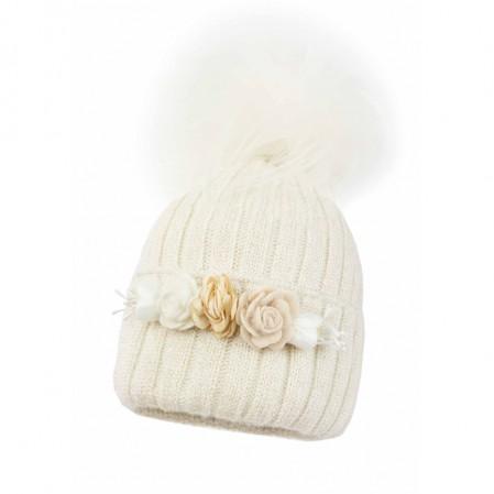 Детска зимна шапка Jamiks Janeil за момиче