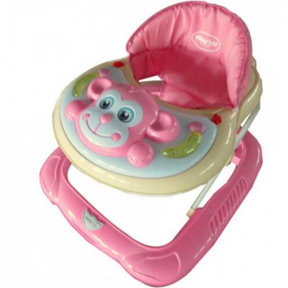 Kikka boo Проходилка Monkey Light Pink