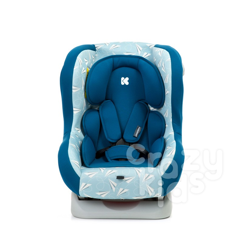 Kikkaboo Стол за кола Antiguo 0-18 кг Airplanes Dark Blue