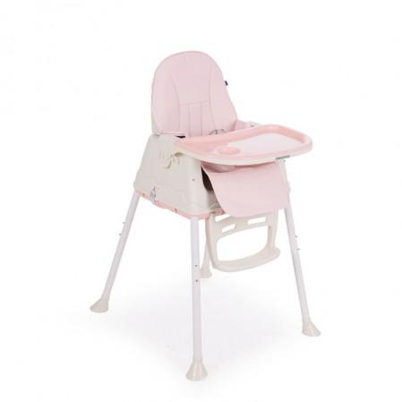 Столче за хранене Kikkaboo Creamy Pink