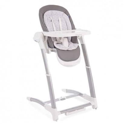 Kikka boo Бебешка люлка столче за хранене 3в1 Prima Grey