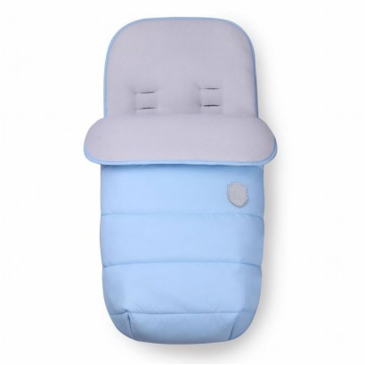Чувалче за количка Kikkaboo Embroidered Baby Blue
