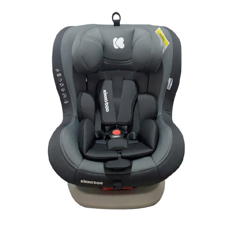 Kikkaboo Стол за кола 0-1-2 0-25 кг Twister Grey Isofix 2020