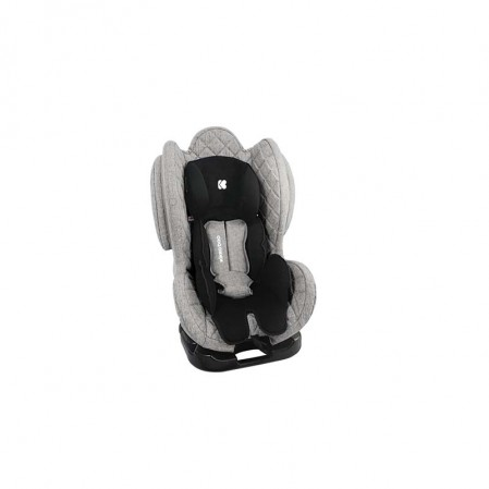 Kikkaboo Стол за кола 0-1-2 0-25 кг Bon Voyage Light Grey 2020