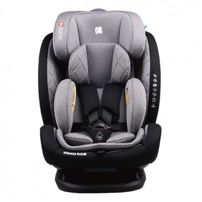Kikkaboo Стол за кола 0с123 0-36кг Multistage Dark Grey 2020