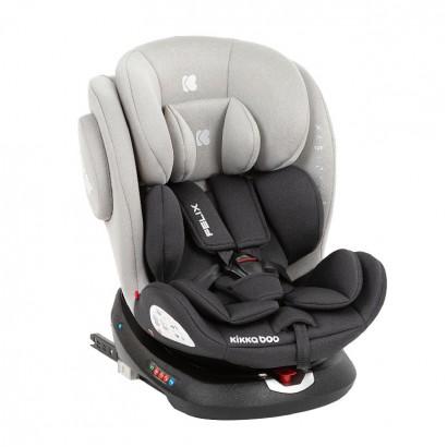 Kikkaboo Стол за кола 0-1-2-3 0-36 кг Felix Light Grey 2020