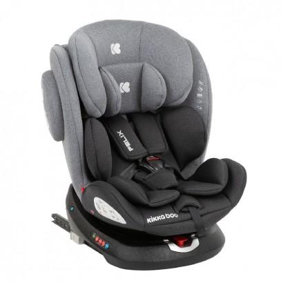 Kikkaboo Стол за кола 0-1-2-3 0-36 кг Felix Dark Grey 2020