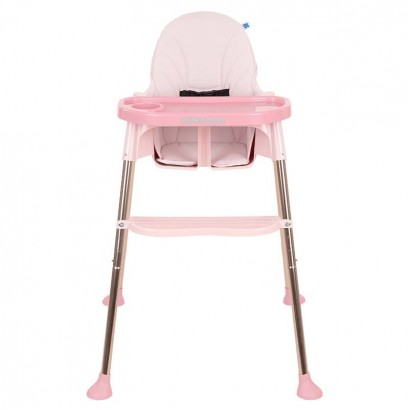 Kikkaboo Столче за хранене Sky-High Pink 2020