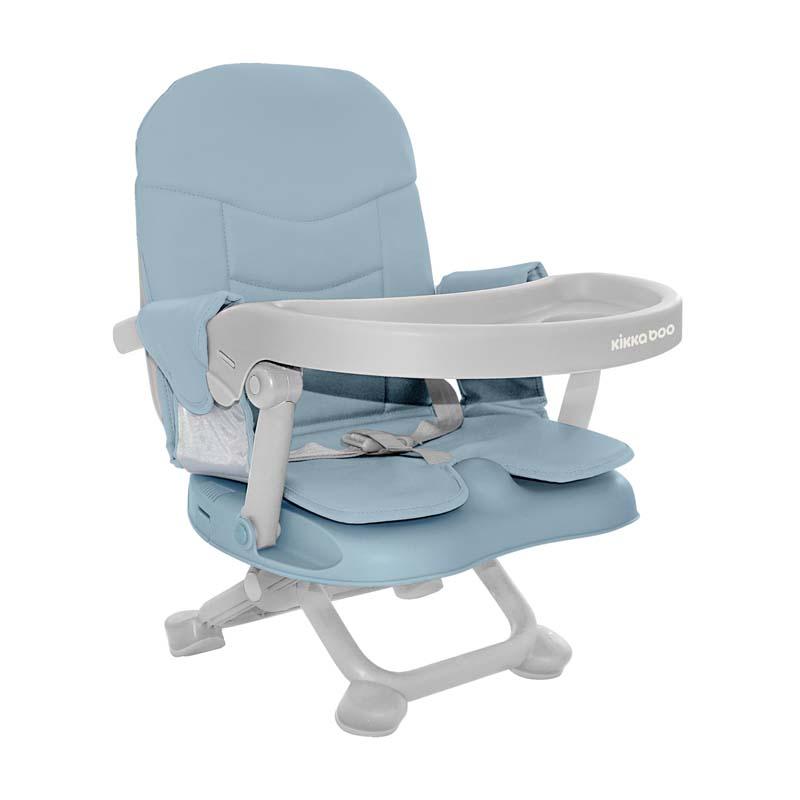 Kikkaboo Столче за хранене повдигащо Pappo Blue 2020