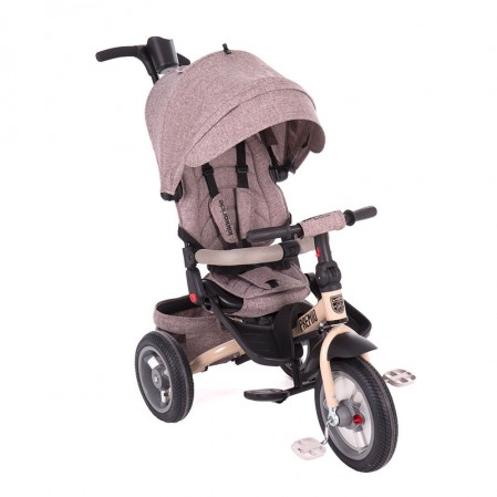 Kikka boo Триколка Premio Air wheels Beige Melange