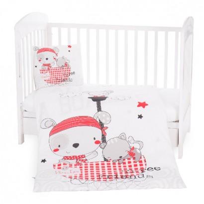 Kikkaboo Бебешки спален комплект 3 части Pirates