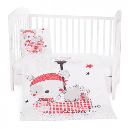 Kikkaboo Бебешки спален комплект 5 части Pirates