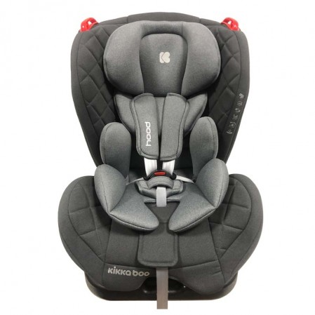 Kikka boo Стол за кола 0 1 2 от 0 до 25 кг Hood Grey
