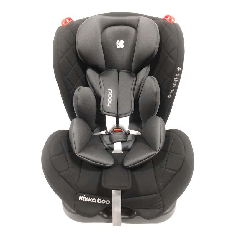 Kikka boo Стол за кола 0 1 2 от 0 до 25 кг Hood Black