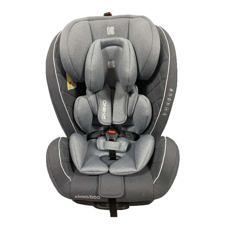 Kikka boo Стол за кола от 0 до 36 кг Rhino ISOFIX Grey