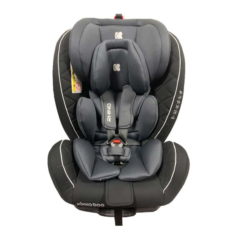 Kikka boo Стол за кола от 0 до 36 кг Rhino ISOFIX Black