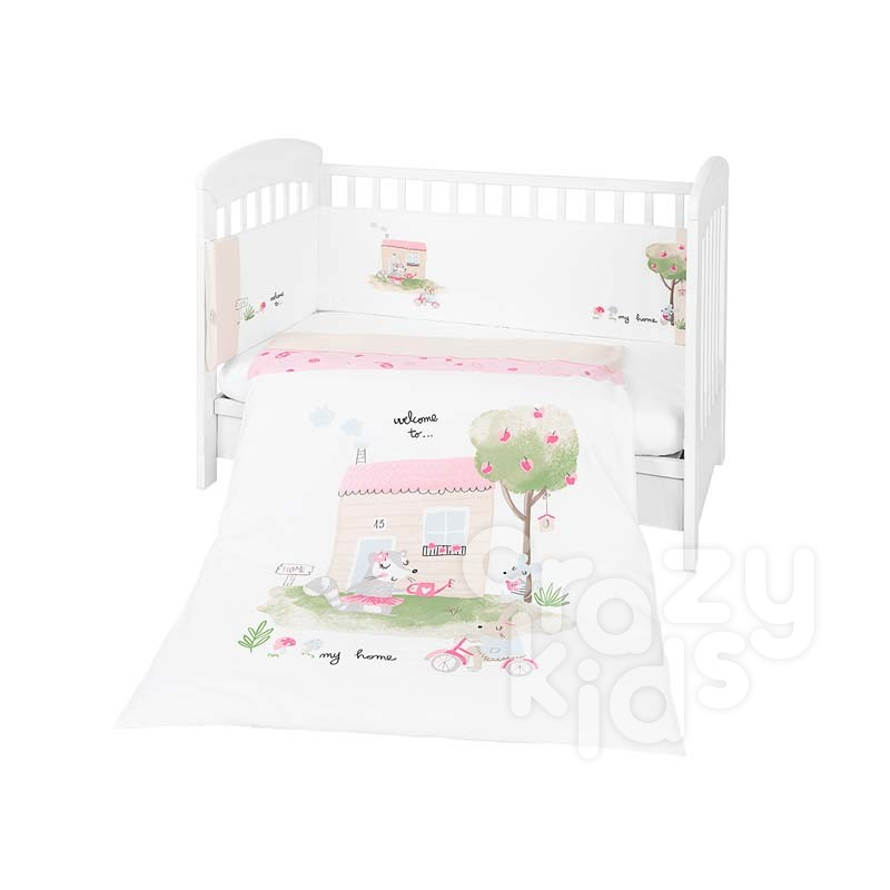 Kikkaboo Бебешки спален комплект 2 части EU style 60 х 120 My Home