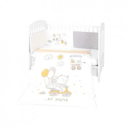 Kikkaboo Бебешки спален комплект 2 части EU style 60 х 120 Joyful Mice