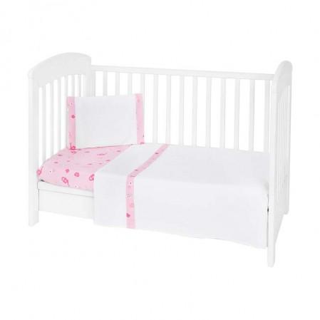 Kikkaboo Бебешки спален комплект 3 части EU Style 60 х 120 My Home