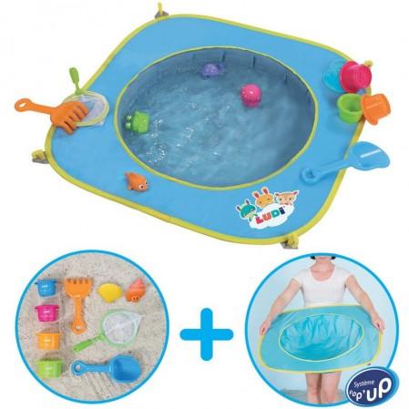 Ludi Бебешки басейн за плаж