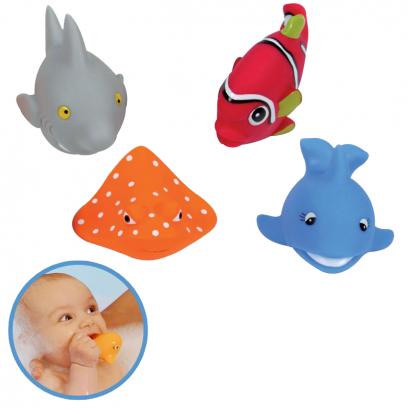 Ludi Бебешка играчка Пръскалки Рибки