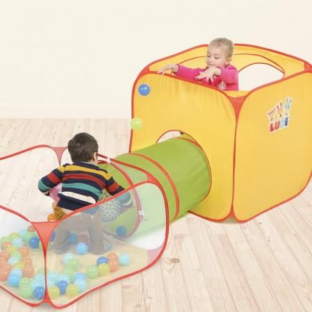 Ludi Детски тунел с кошарки за игра