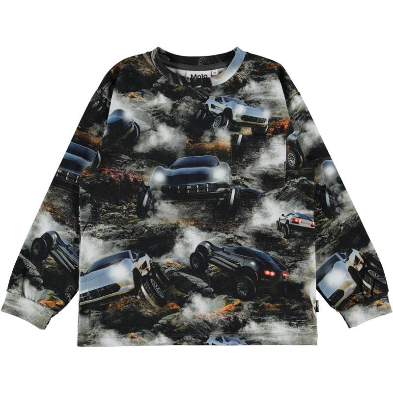 Детска блуза с принт Molo за момче