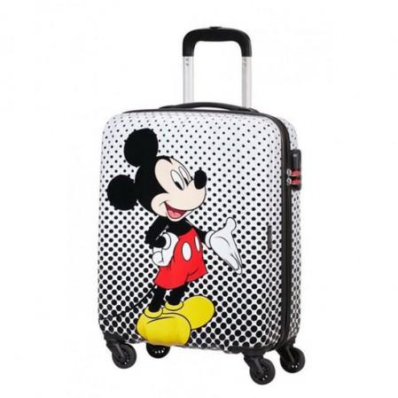 Samsonite American Tourister Спинер на 4 колела Disney Legends 55 см Take Mickey Mouse Polka Dot