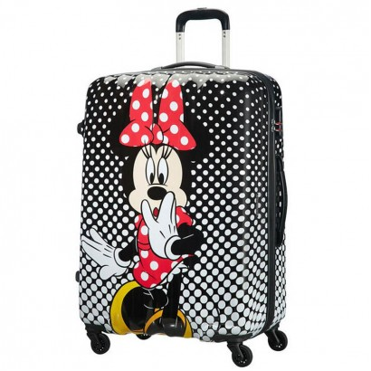 Samsonite AT Спинер на 4 колела Disney Legends 75 см Minnie Mouse Polka Dot